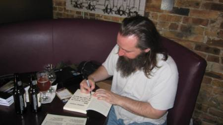 Signing LOSING TOUCH at The Aberdeen Tap.