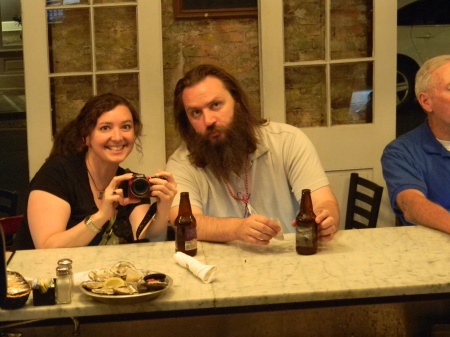 Maureen and me at the Royal House Oyster Bar.