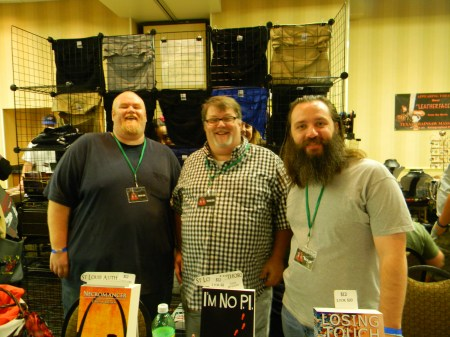 C. Bryan Brown, Eric Beebe, and me, representin'.