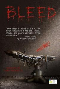 BLEED: A BOOK OF HOPE, now available at Amazon.com.
