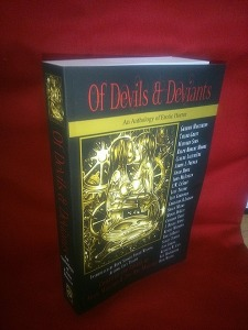 The very first paperback of OF DEVILS & DEVIANTS.