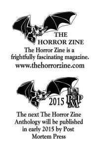 SHRIEKS AND SHIVERS coming soon from Post Mortem Press.